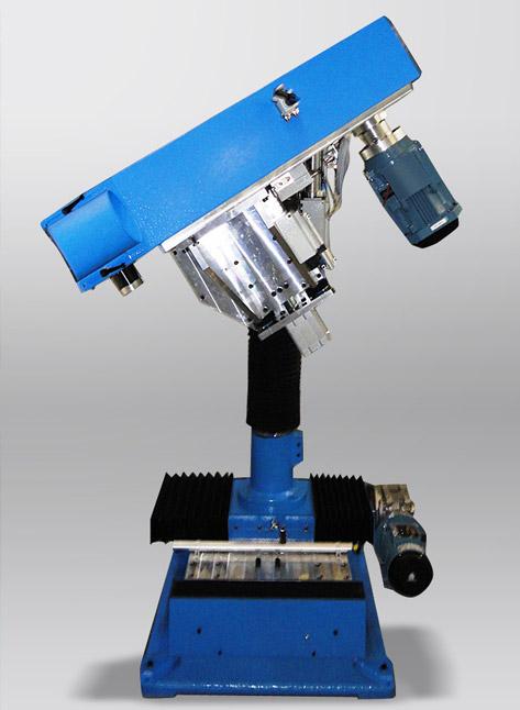 TR+CNCS Tavola rotante a scatti con unità di smerigliatura CNCS